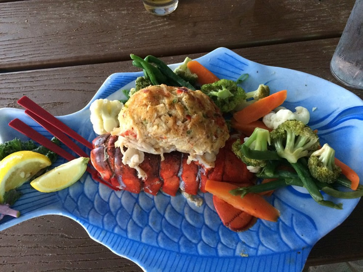 Baked Stuffed Lobster Tail2