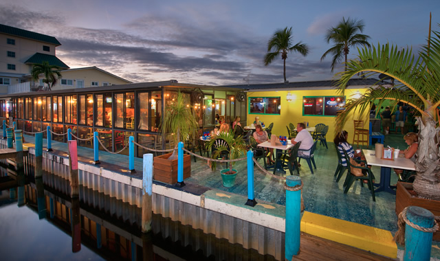fresh seafood restaurants casual beach style dining On the fish house restaurant